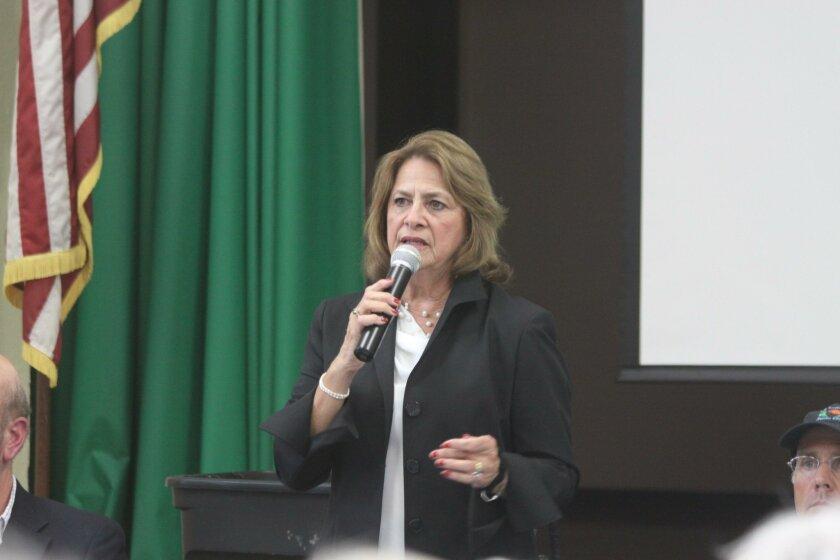 La Jolla Town Council President Ann Kerr Bache