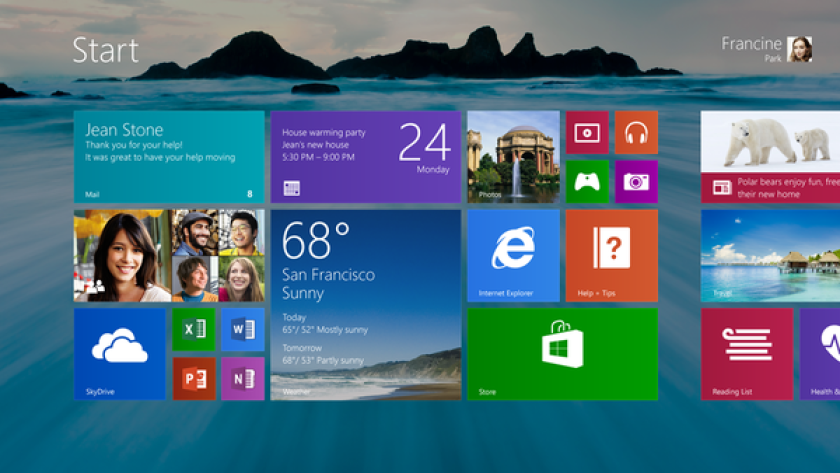 Microsoft has previewed Windows 8.1