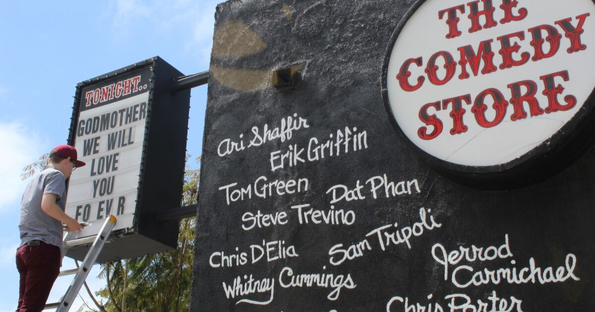 La Jolla News Nuggets: Comedy Store owner Mitzi Shore dies