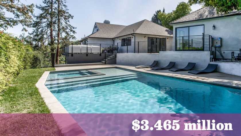 Maverick Carter, the longtime friend and business partner of NBA star LeBron James, has paid $3.465 million for a renovated compound in Hollywood Hills.