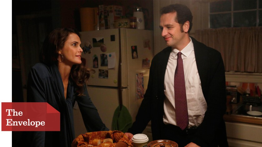 """After years of antihero characters saving the day with their genius brains and barbed personalities, the """"smartest guy (and gal) in the room"""" trope seems to have run its course. Pictured here are Keri Russell and Matthew Rhys in """"The Americans."""""""