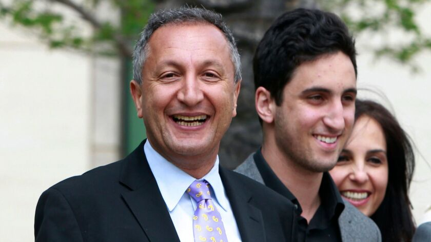 MGA Entertainment chief Isaac Larian, left, has worked for the past few weeks to try to buy a few hundred Toys R Us stores in North America. Outbid for 82 stores in Canada, Larian is focusing on buying 274 Toys R Us stores in the United States.