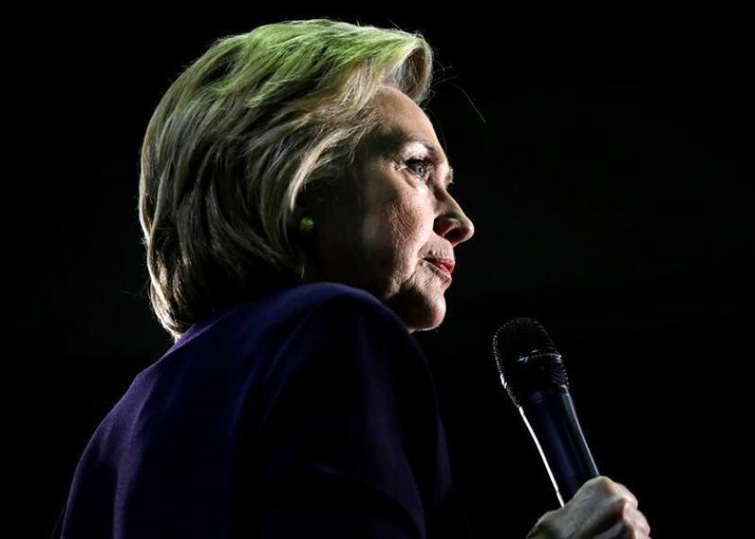 Hillary Clinton, candidata a la presidencia de Estados Unidos.