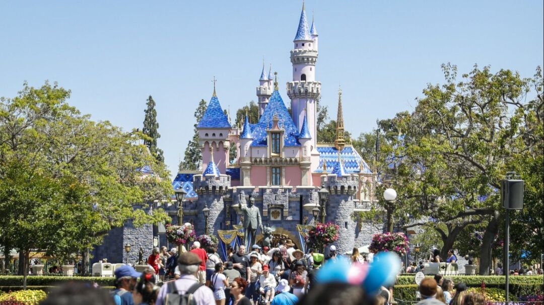 Sleeping Beauty Castle last year received a brighter, more animated look.