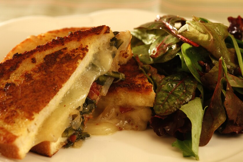 Savory stuffed French toast