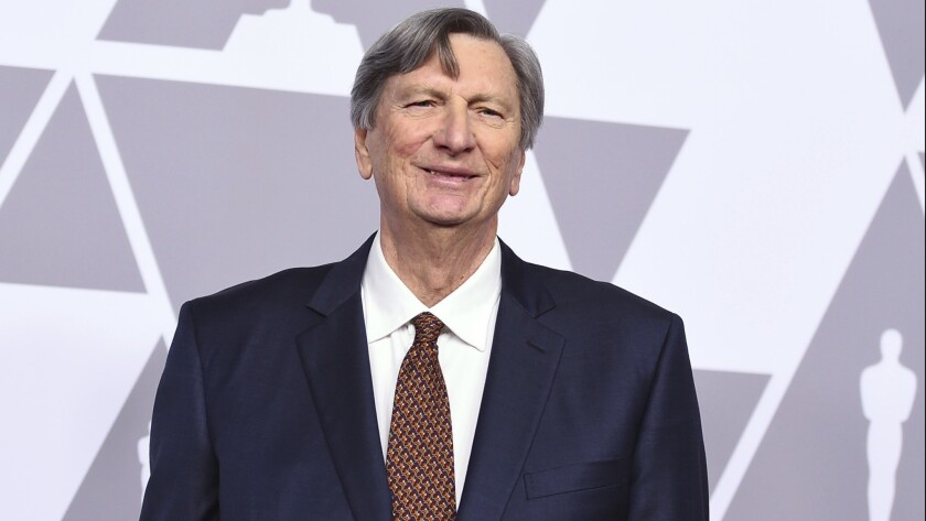 Academy president John Bailey at the Oscar nominees luncheon last month.