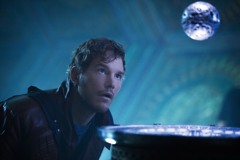 """""""Guardians of the Galaxy,"""" starring Chris Pratt, was the highest-grossing movie of a lackluster summer."""
