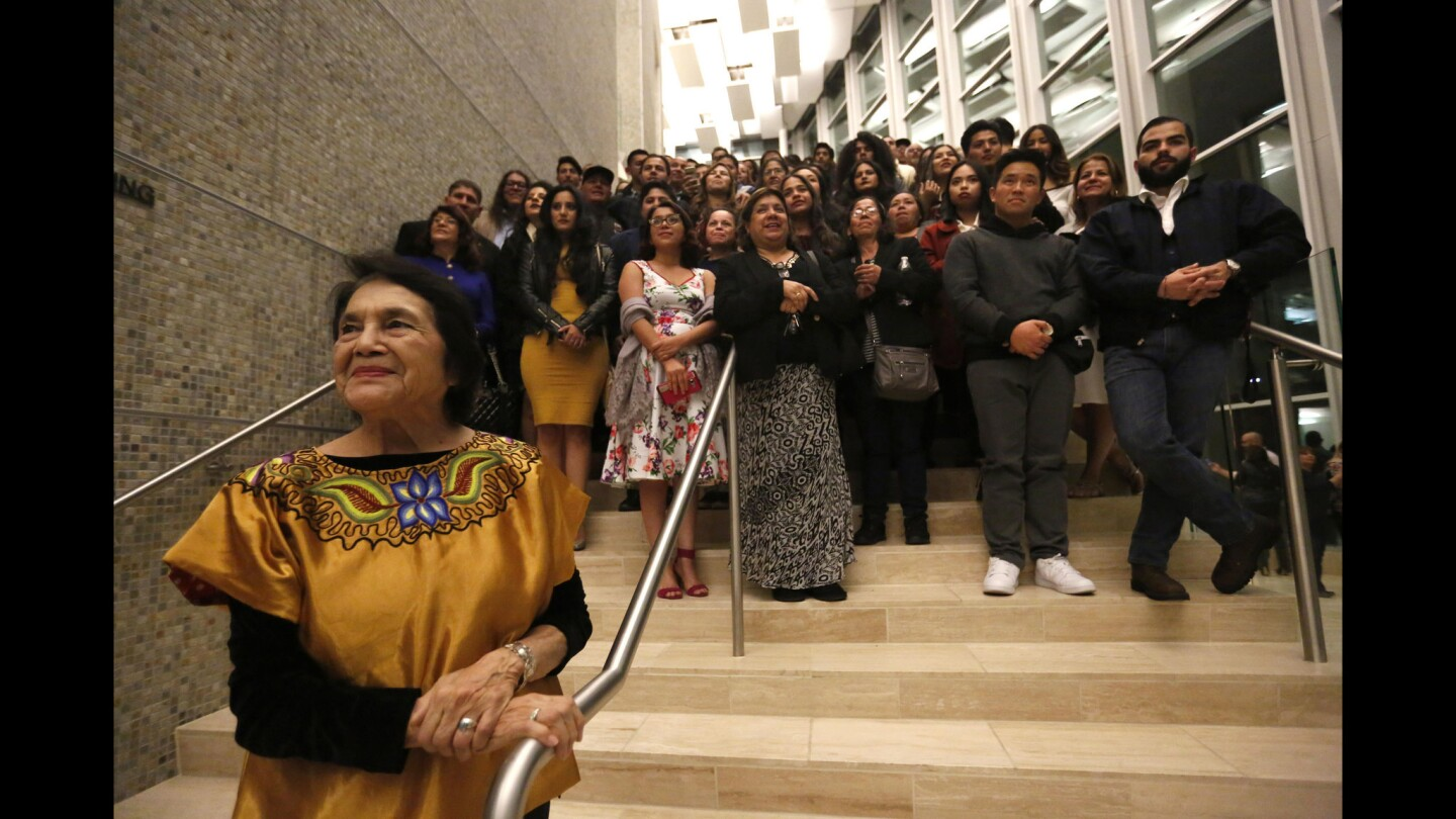 A night for Dreamers at the mariachi opera