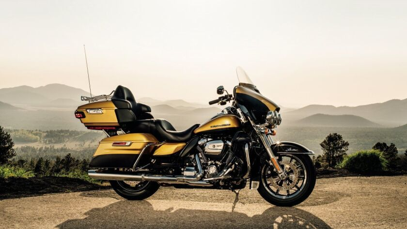Harley-Davidson's new Ultra Limited is beating with a brand