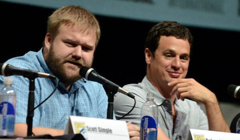 """Walking Dead"" executive producers Robert Kirkman and David Alpert"