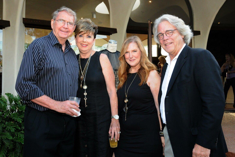 Aubrey and Judy Burer, Patti Judd and Bob Salt