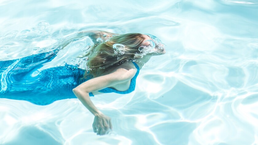 Mermaid fitness classes at San Diego's Hotel del Coronado are so popular that the resort had a waiting list all summer long.