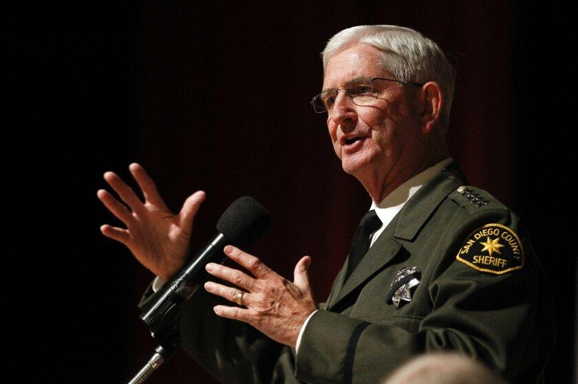 San Diego County Sheriff Bill Gore