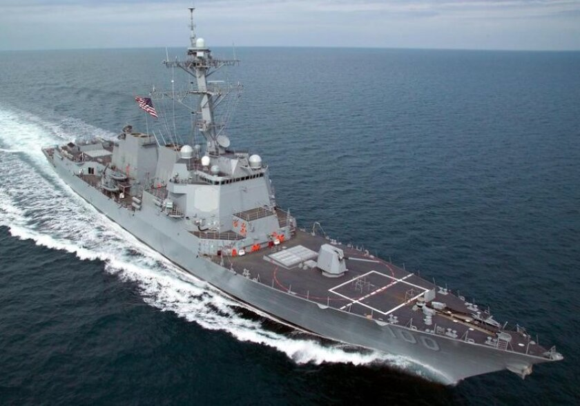 The guided-missile destroyer Kidd