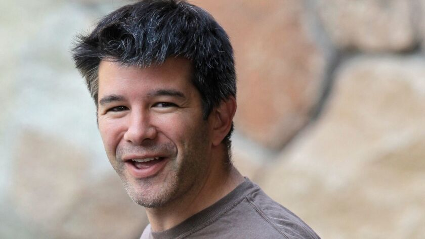 Former Uber CEO Travis Kalanick named to the ride-hailing company's board former Xerox CEO Ursula Burns and former Merrill Lynch and CIT Group CEO John Thain.