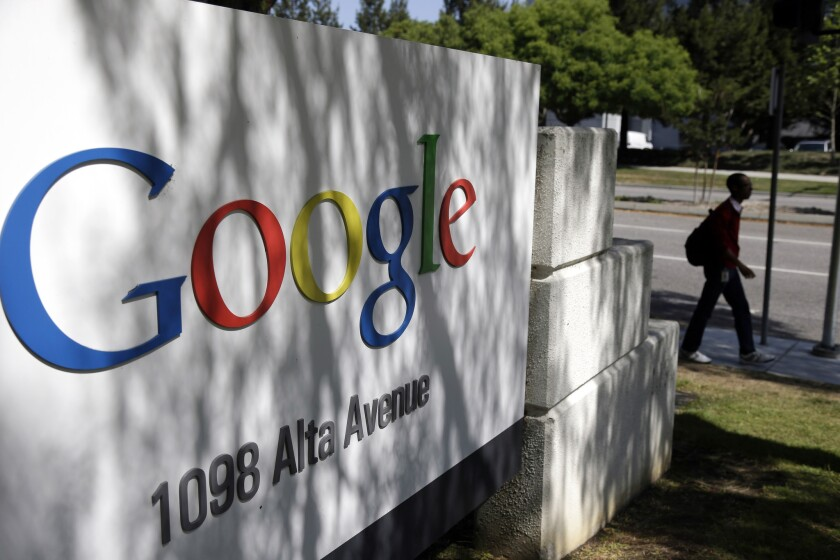 Google is among the companies with a large Asian American workforce, but few rise to the executive level, according to a recent report.
