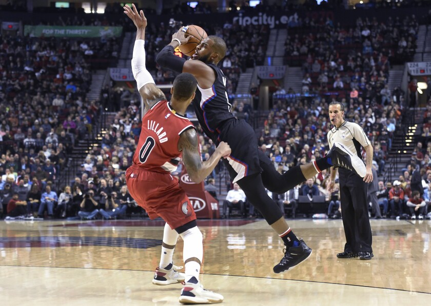 Clippers beat Trail Blazers as CJ McCollum sits due to clerical error