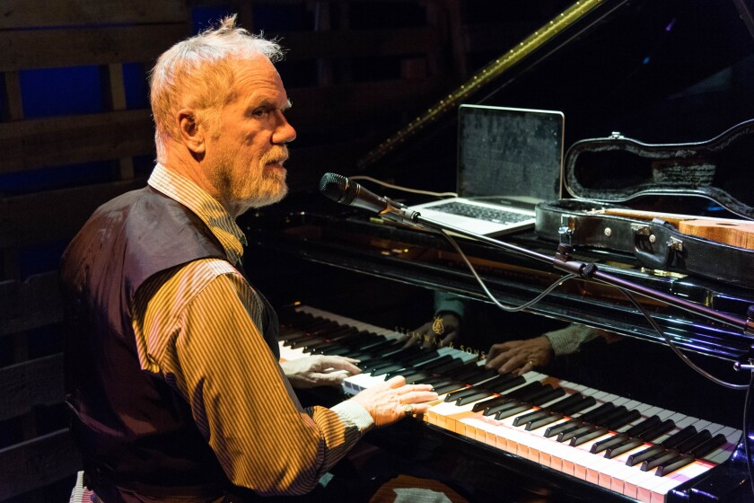 Loudon Wainwright in the Sorting Room held at the Wallis Annenberg Center for the Performing Arts