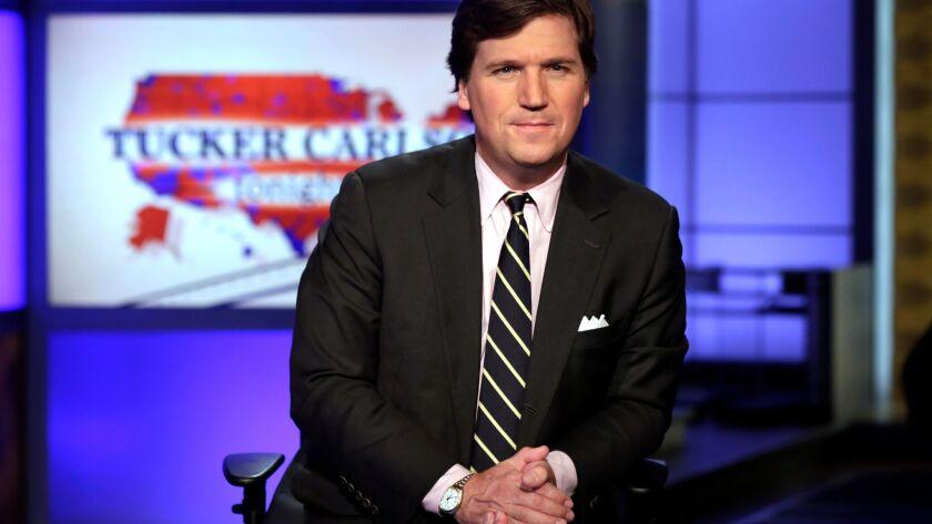 """Tucker Carlson, host of """"Tucker Carlson Tonight."""""""