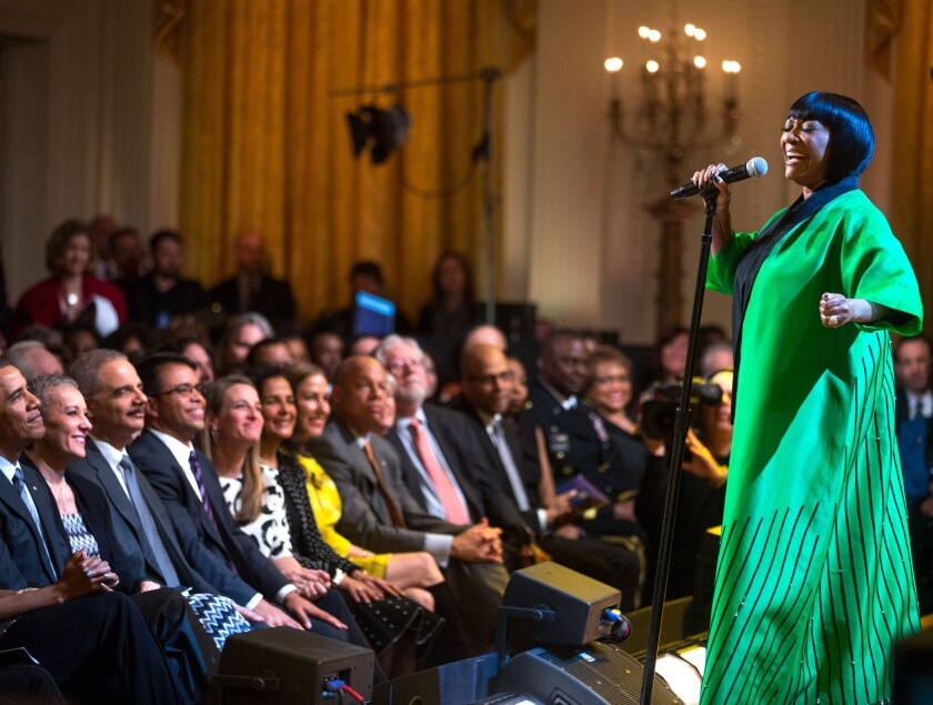 "Patti LaBelle ""In Performance at the White House"" on PBS."