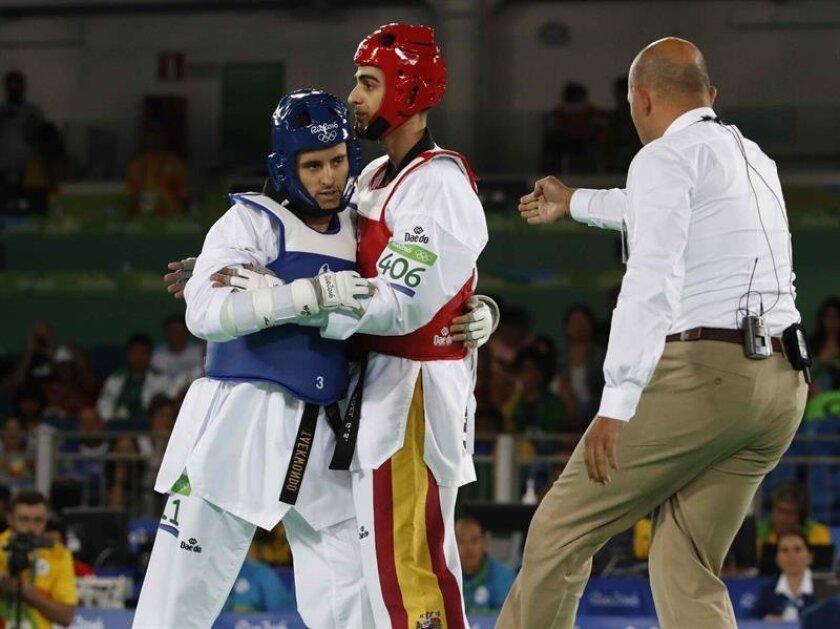 Spain's Joel Gonzalez advances to Olympic taekwondo quarterfinals
