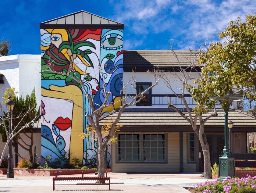 The Third Avenue Village Association building in Chula Vista. The city is on the annual OH! San Diego tour this year.