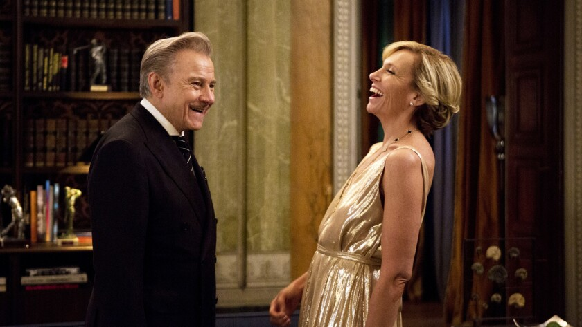 """Harvey Keitel and Toni Collette in the movie """"Madame."""""""