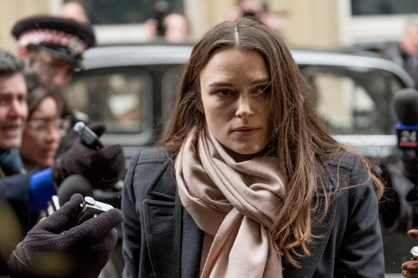 "Keira Knightley in ""Official Secrets"""