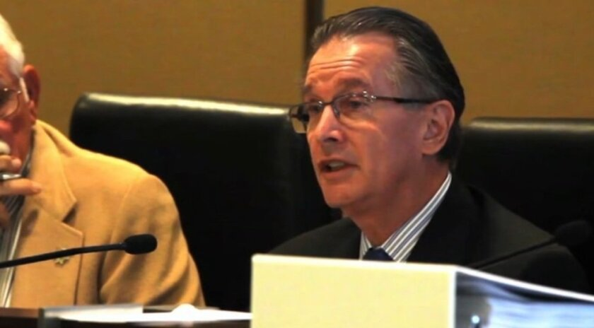 Brian White, CEO of the San Diego County Employees Retirement Association, at a meeting last October.
