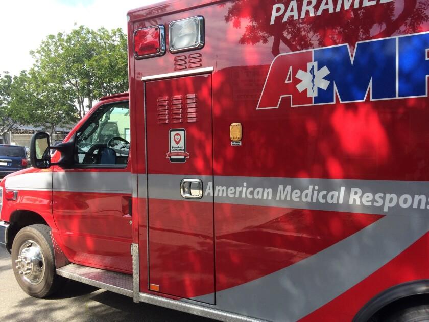 ambulance ; AMR ambulance ; AMR paramedics