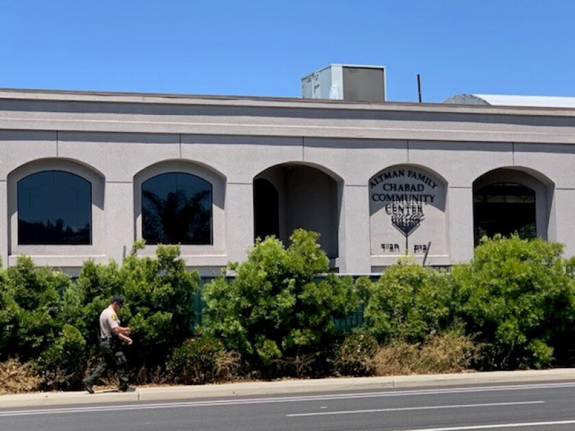 Chabad of Poway building exterior