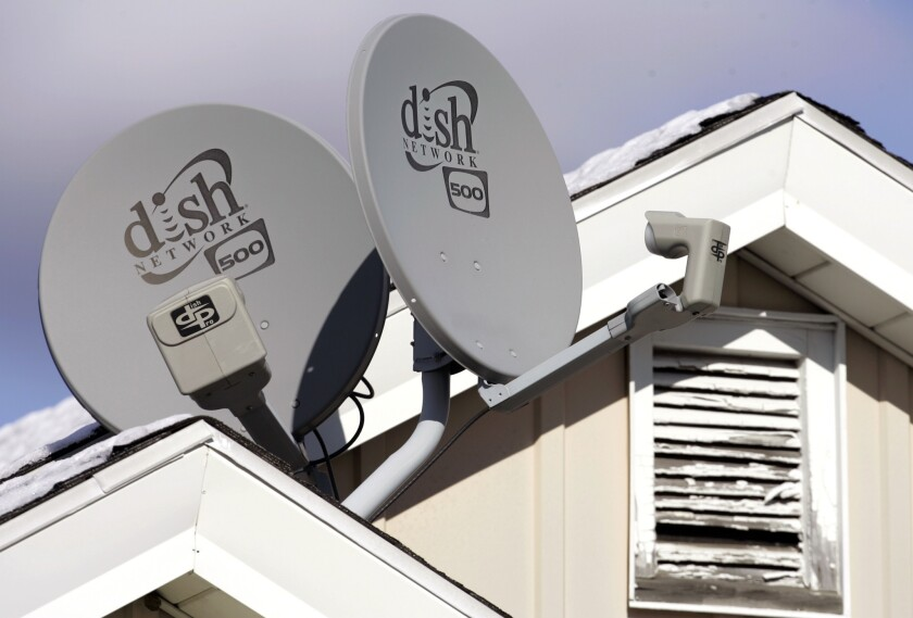 Dish Network is worried about Comcast buying Time Warner Cable.