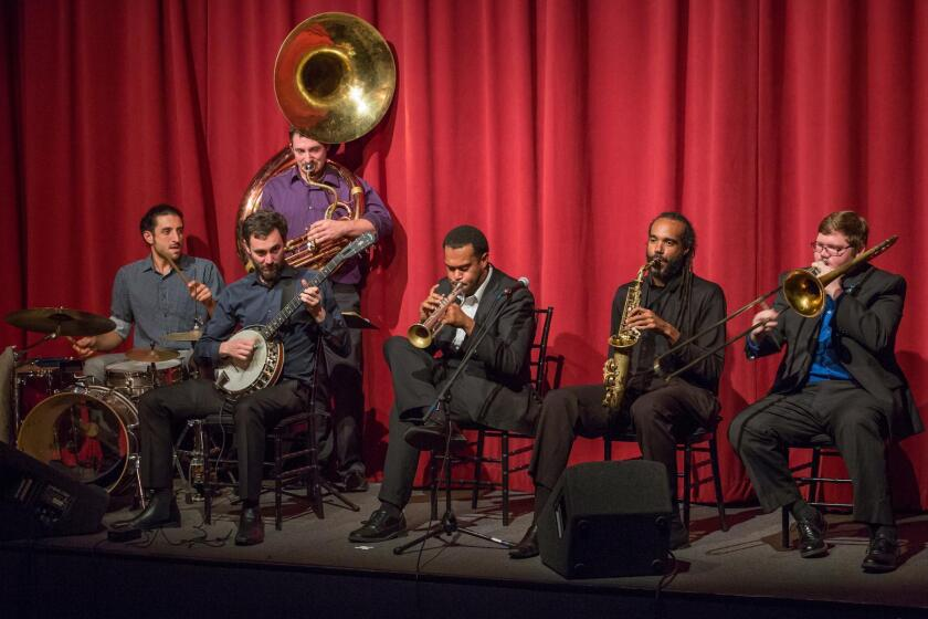 New Orleans Swamp Donkeys will perform Jan. 21, 2017 as part of the ArtPower concert series at UC San Diego in La Jolla.