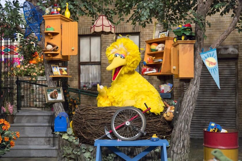 "Big Bird will have a new nest when ""Sesame Street"" returns this fall."