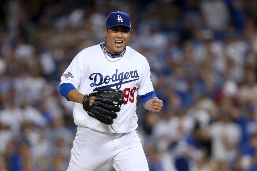 Ryu deals a winner for Dodgers