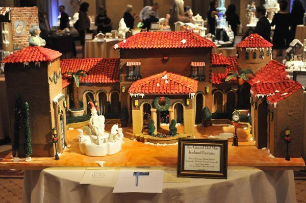 Some of the many Gingerbread creations on display