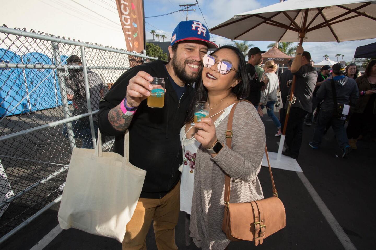 Bagby Beer hosted its annual Brewbies Festival on Feb. 11, 2017 to benefit the Keep A Breast Foundation. (Bradley Schweit)