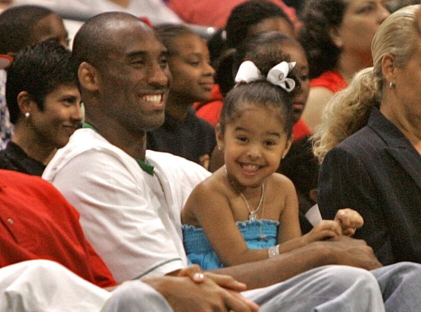 Kobe Bryant, Natalia Bryant