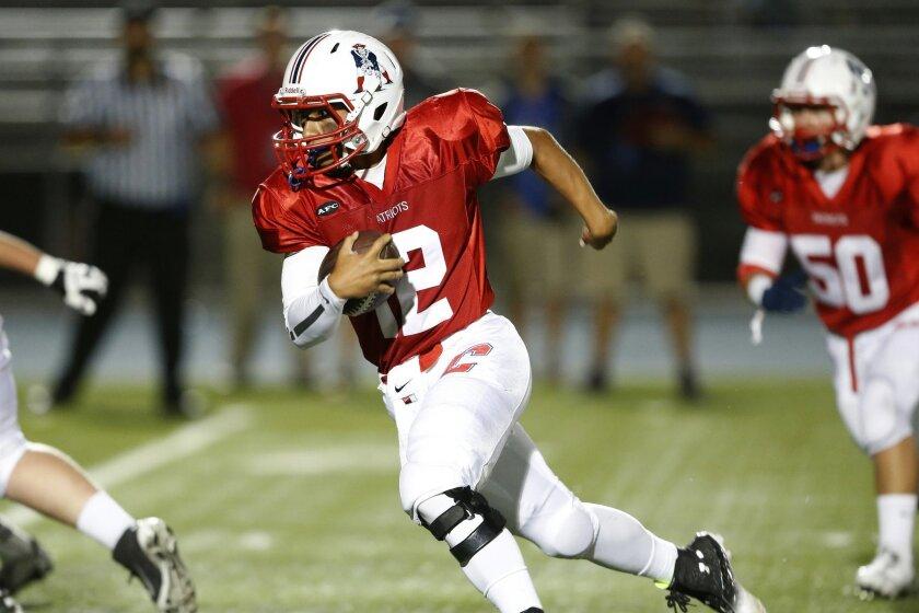 Christian quarterback David Jeremiah threw for 2,945 yards and 35 TDs last season.