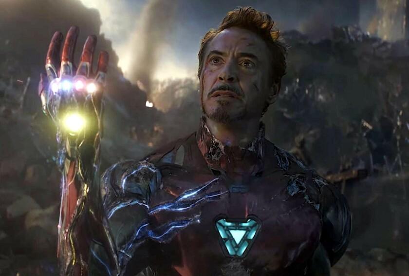 Esta es una escena de la cinta con Robert Downey Jr.