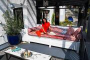 My Favorite Room | 'NCIS: New Orleans' actress Necar Zadegan loves her balcony seat