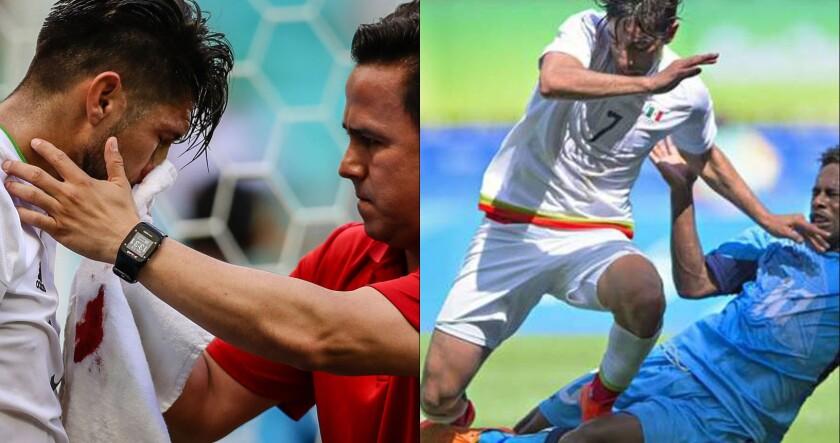 Oribe Peralta (i) y Rodolfo Pizarro están fuera...