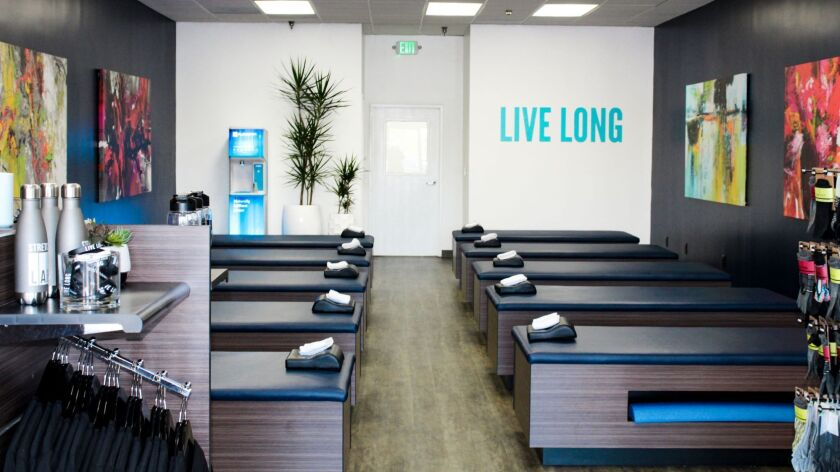 The newest StretchLab opened in Valencia in January, offering 10 stretch tables maned by ?flexologis