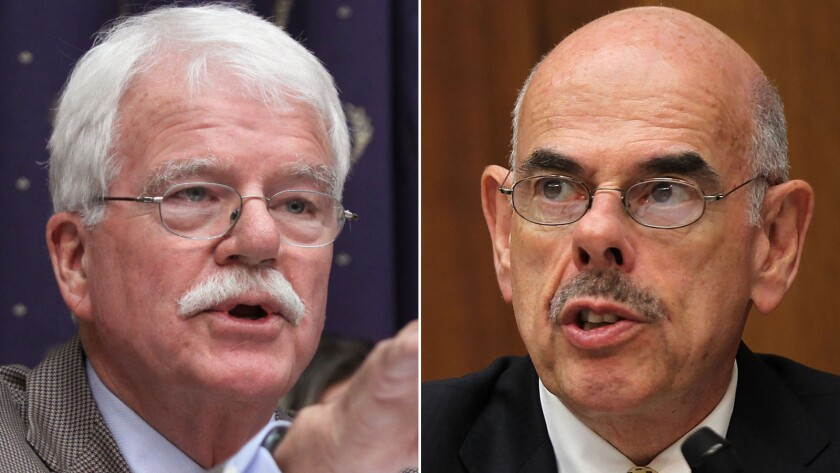 Gone with the 113th Congress are California Reps. George Miller (D-Martinez) and Henry A. Waxman (D-Beverly Hills).