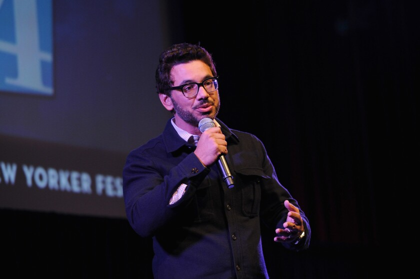 Comedian Al Madrigal. (Getty Images)
