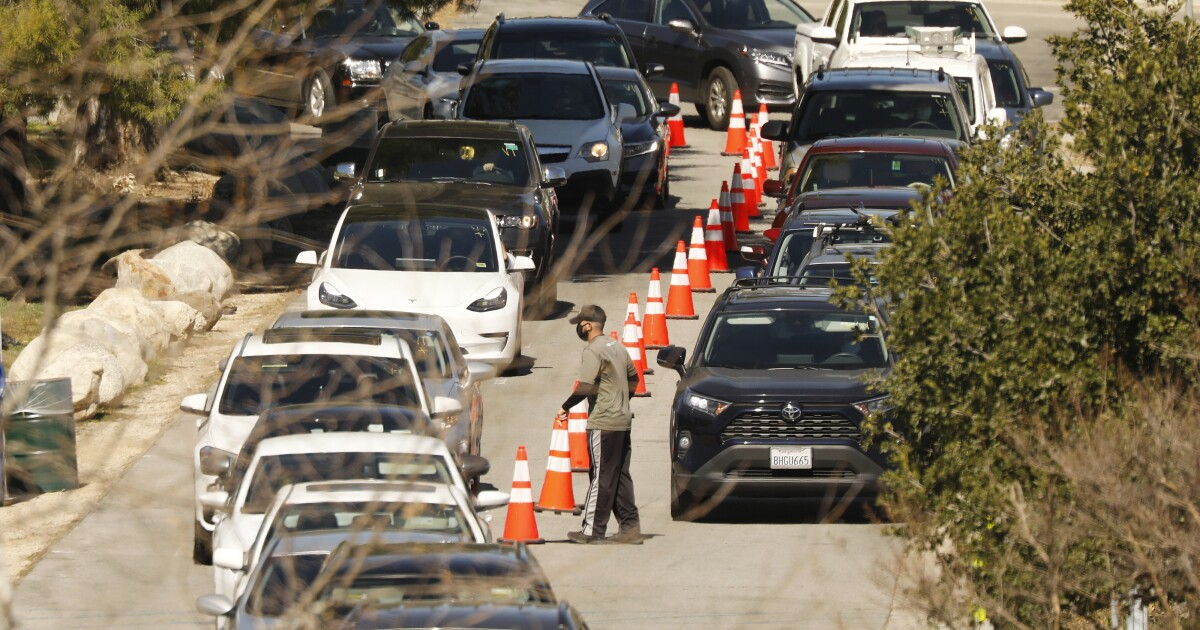 L.A. COVID-19 vaccination pace plunges as officials work to expand access