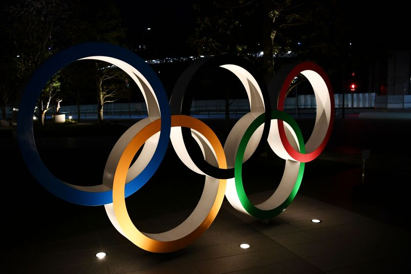 The Tokyo Olympics are postponed until 2021 because of the coronavirus outbreak.