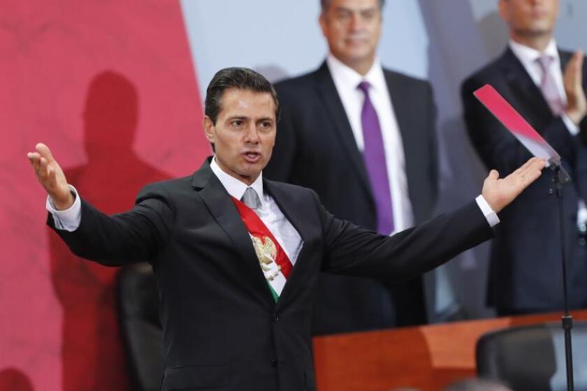 El expresidente de México, Enrique Peña Nieto. EFE/Jorge Núñez/Archivo