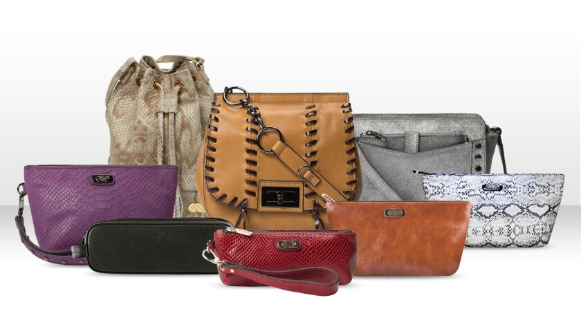 The AnnaBís range currently includes eight bag styles, each named in honor of a female celebrity who