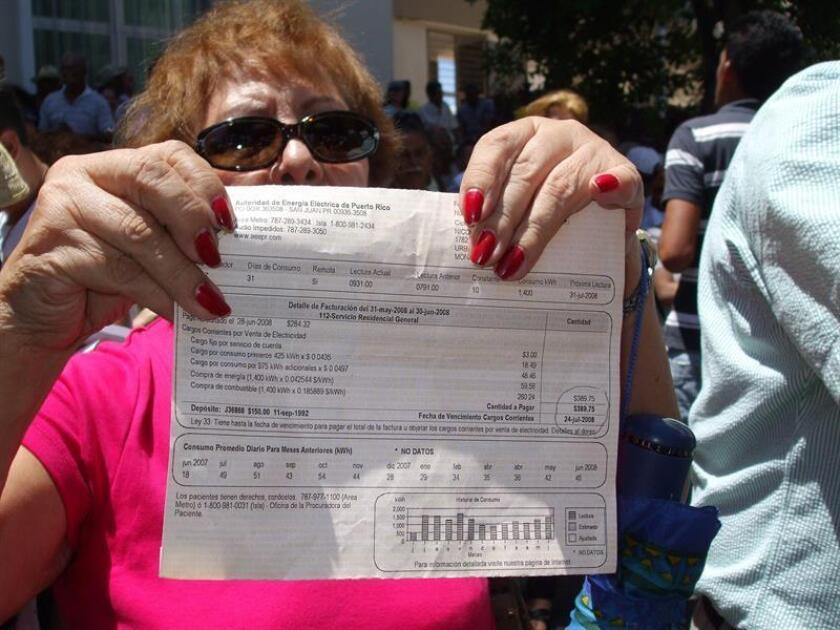 Representante propone amnistía a deuda de los clientes de eléctrica de P.Rico